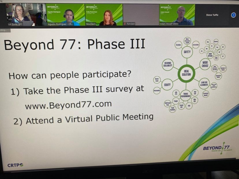 """Planners Working to Transport Us """"Beyond I-77"""""""